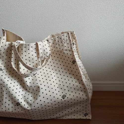 BONTONのコットントートバッグ(Yuki Ide私物)