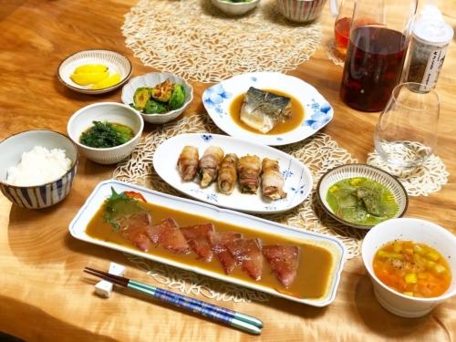 福田家の食卓