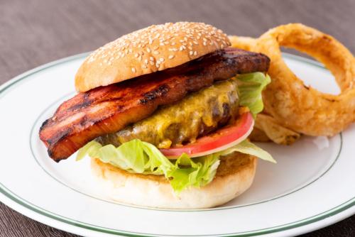 ニューヨークスタイル ベーコン&チーズバーガー