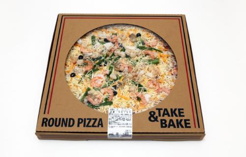 コストコ 丸型ピザ シーフード
