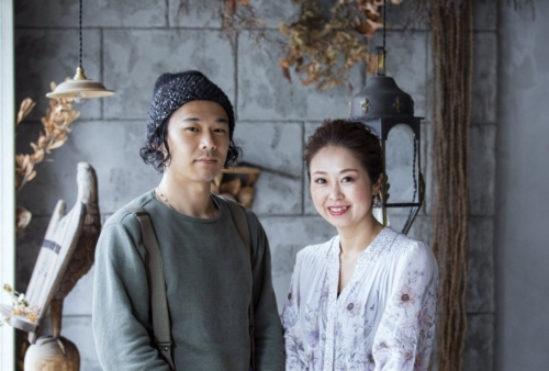 『カフェ ヒラコンシェクラシック』や『アマム ダコタン』を手掛けた平子良太さんとスカーレットの中村麻耶さん。