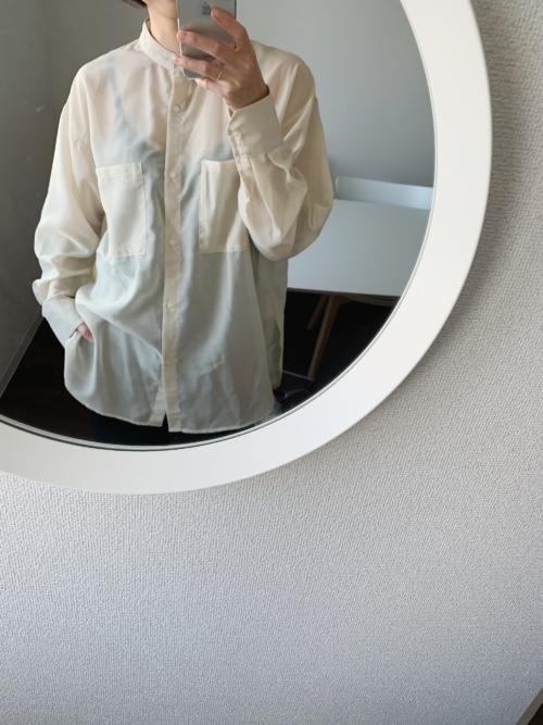 白シャツ 春物新調
