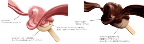 PARM(パルム) ベリーのティラミス(1本入り) PARM(パルム) チョコレート&チョコレート~厳選カカオ仕立て~(6本入り)