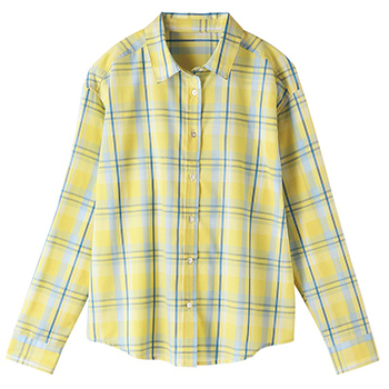 セシール UV ケアレギュラーシャツ