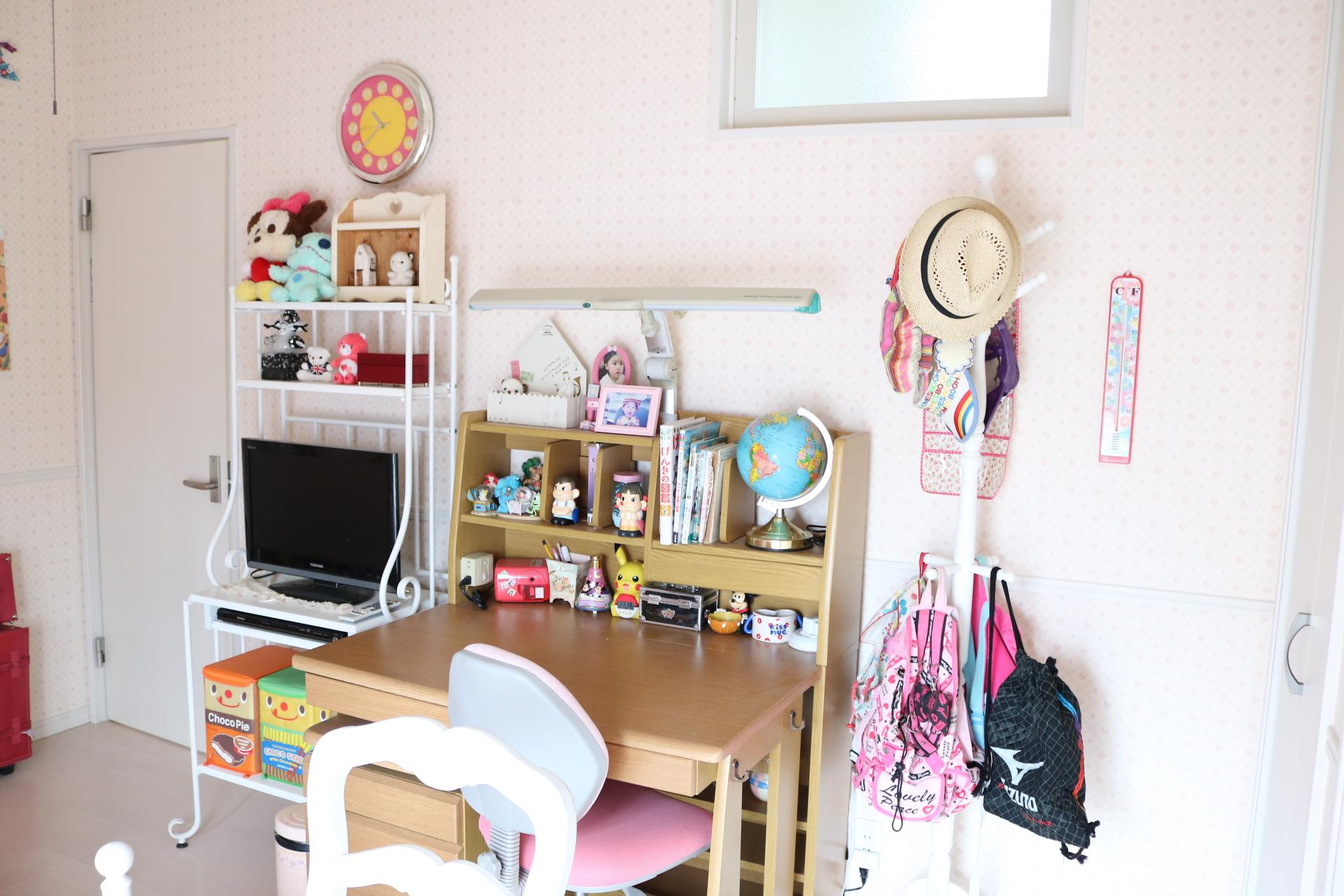 成長とともに変わる子供部屋