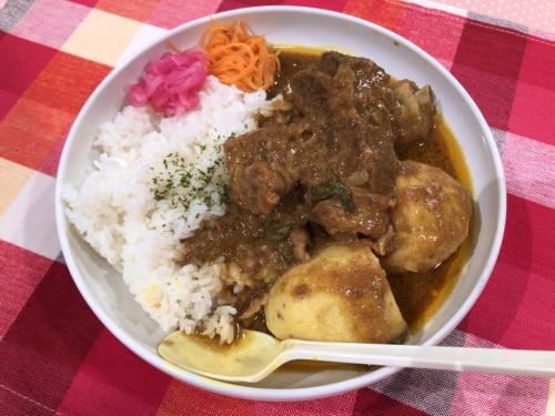 mama curry スペアリブカレー