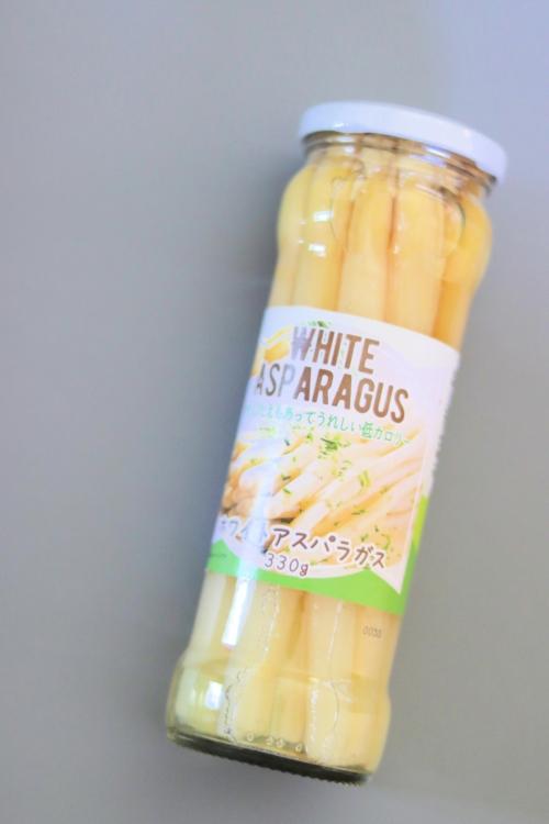カルディ ホワイトアスパラガスの瓶詰め