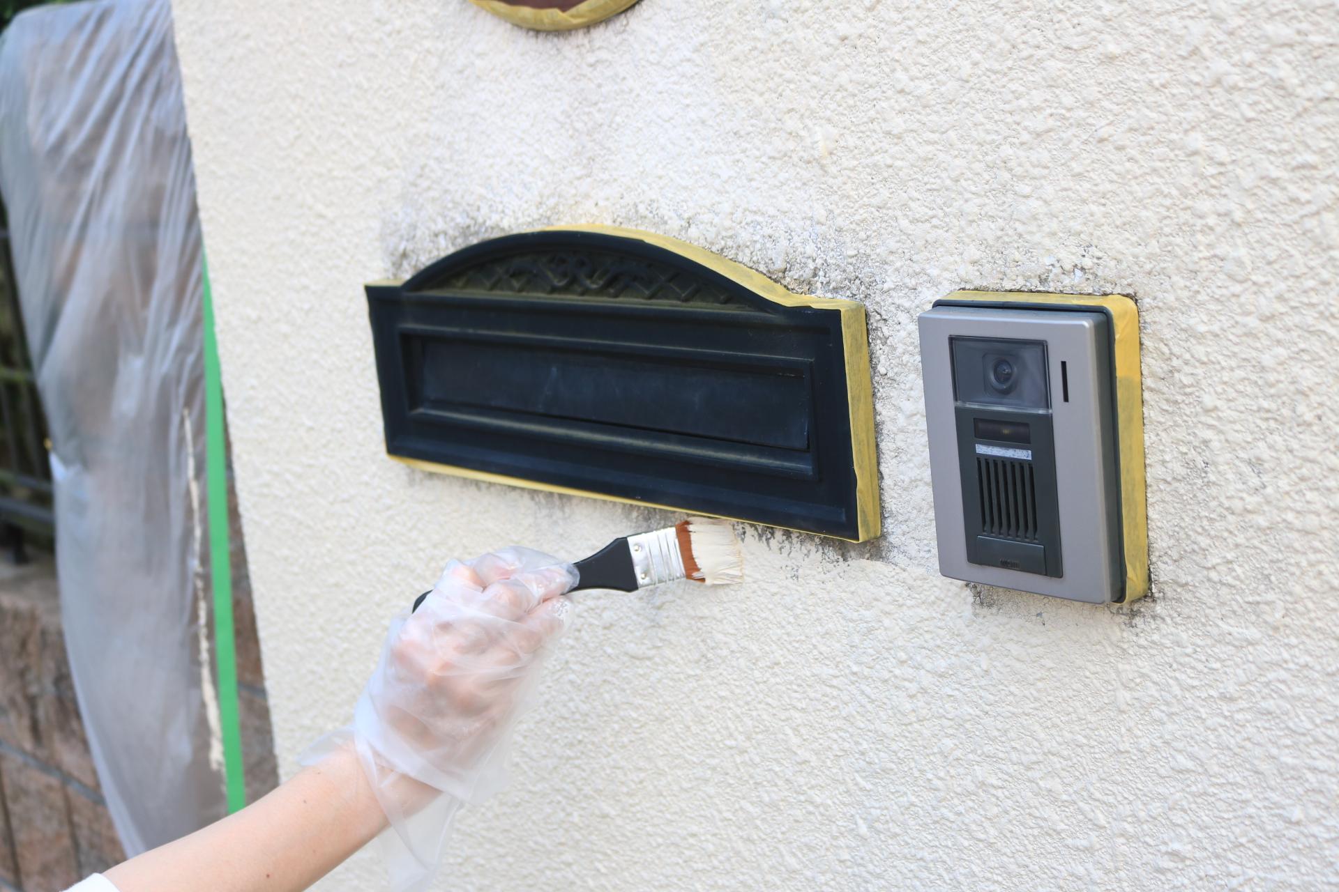 女性でも簡単・セルフリノベーション 壁塗り