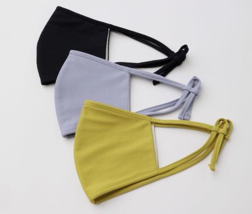 オリジナル布製マスク UVカット・接触冷感 /ポリエステルコットンジャージーマスク