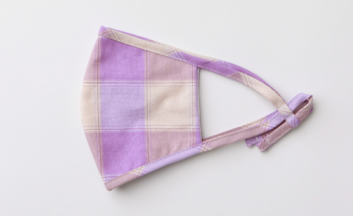 オリジナル布製マスク オリジナルギンガムチェック コットンマスク