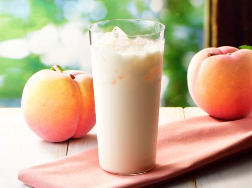 爽やか国産白桃のラッシー