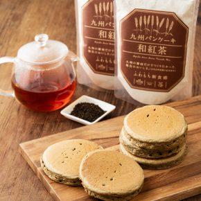 「九州パンケーキ」『和紅茶満喫パンケーキ』セット