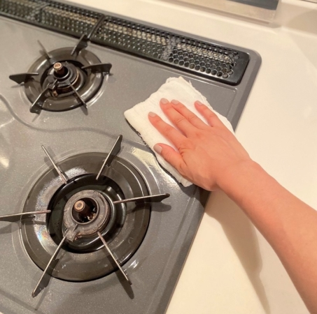 夜のキッチン掃除ルーティン