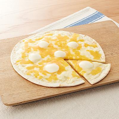 『4種チーズのピザ』