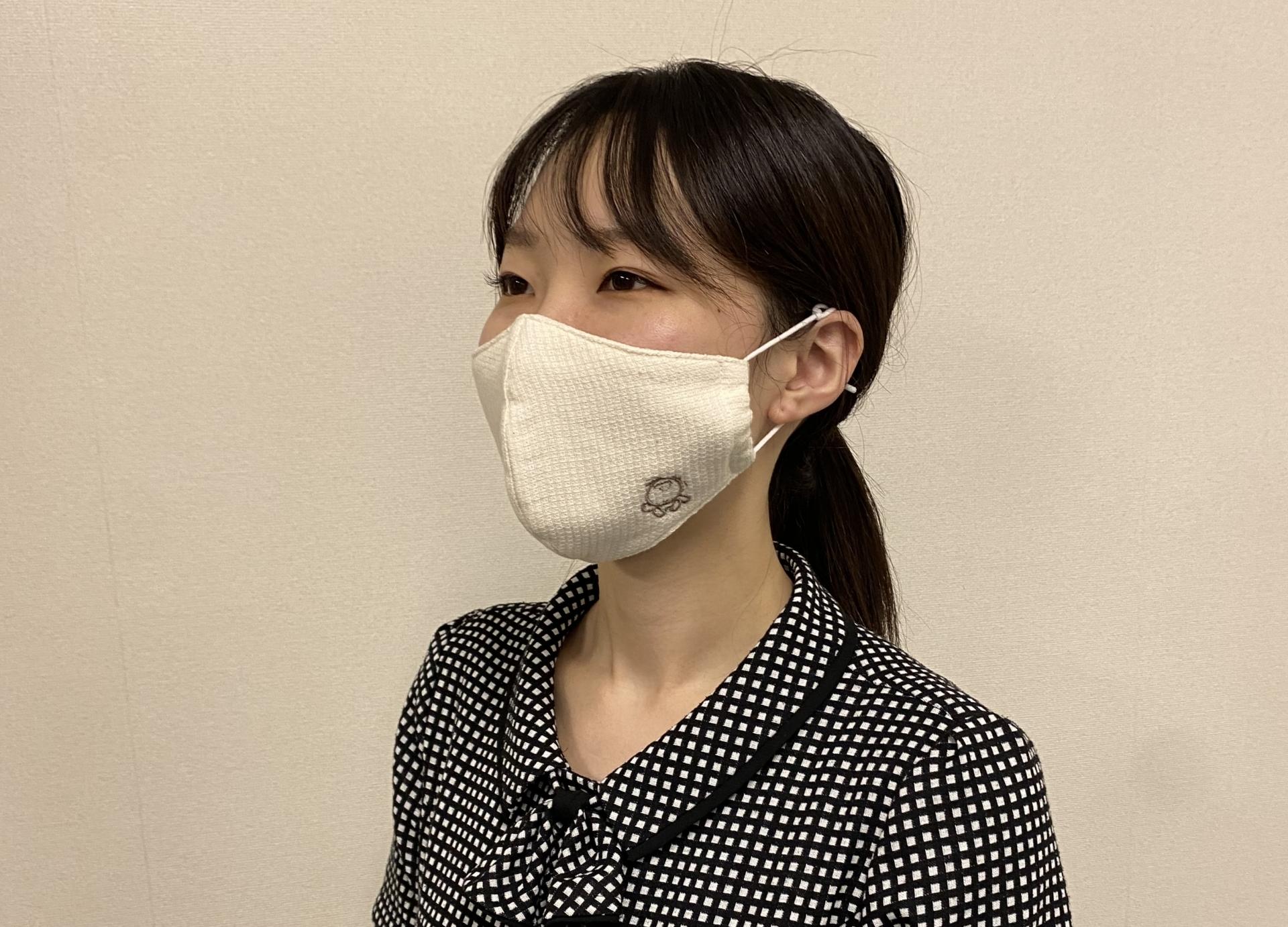 シャボンちゃんマスク