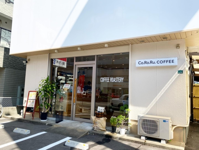 Co.Ro.Ru. COFFEE(コロルコーヒー) 駐車場