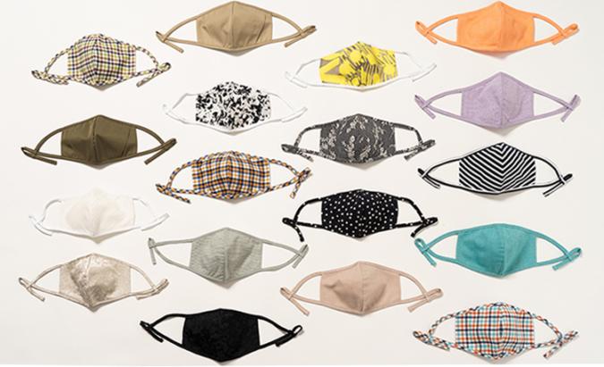 オリジナル布製マスク