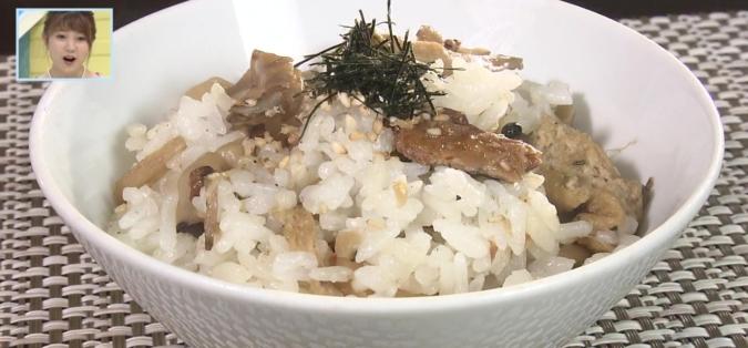 TOYO'Sキッチン「たっぷりきのことサンマの常備菜」