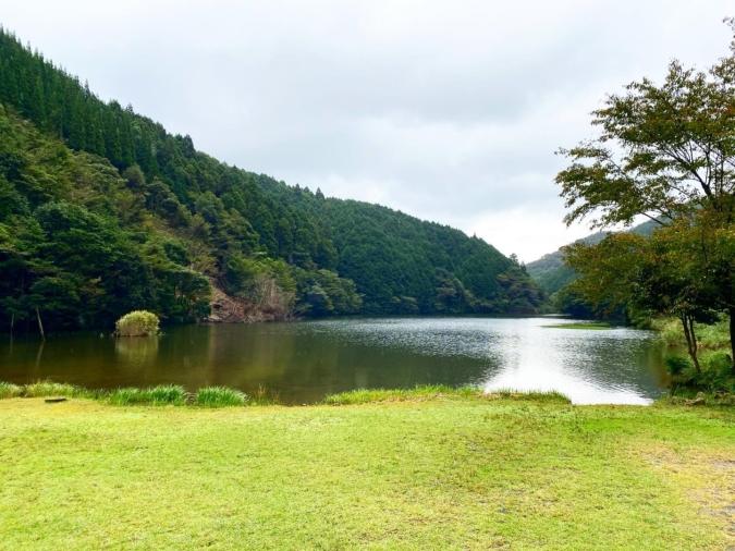 一の俣桜公園 青霧鯉池