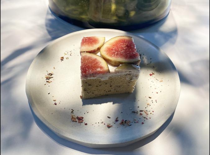 ORTO CAFE いちじくとアールグレイのシフォンケーキ