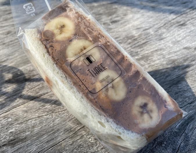 fruit sand three(フルーツサンドスリー)チョコクリームバナナ