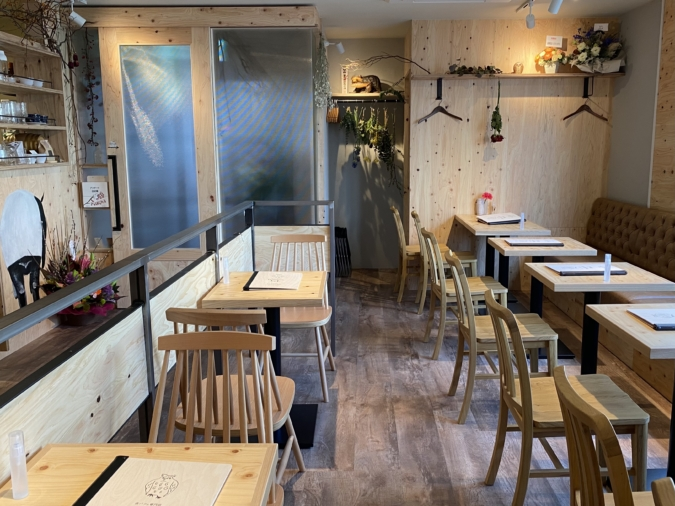 カフェ parfaiteria beL(パフェテリア ベル) 店内