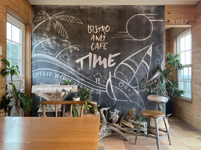 Bistro&Cafe TIME 黒板アート