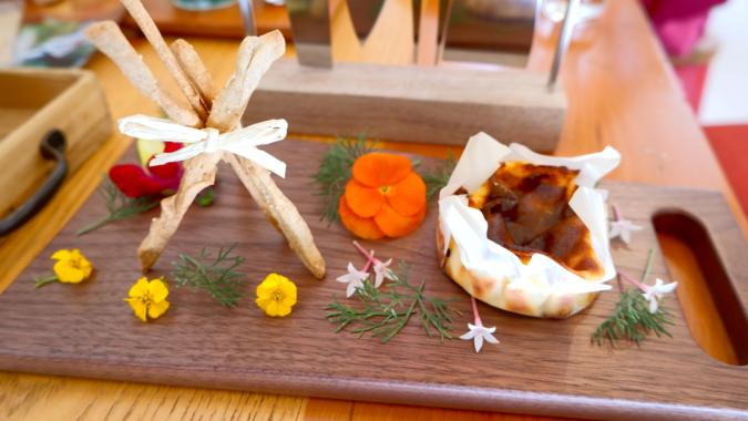 FlowerTea+FarmersCafe(フラワーティー+ファーマーズカフェ)』 スイーツ