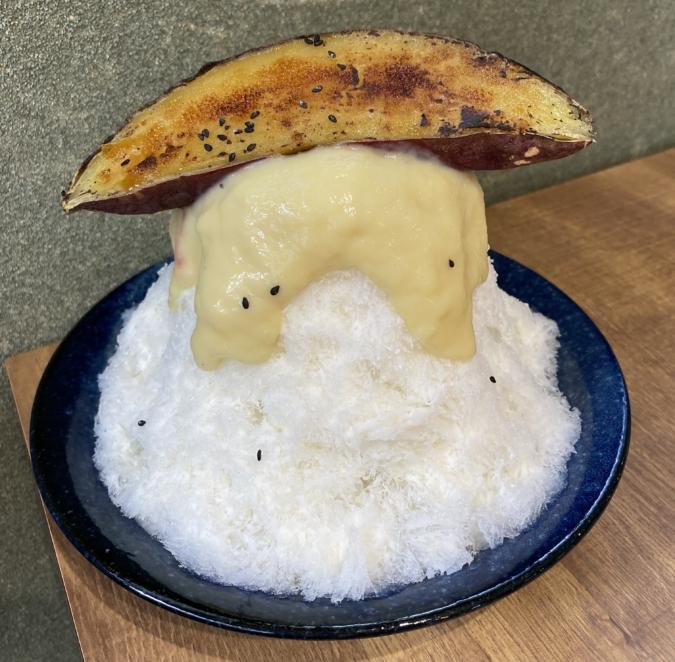かき氷 玄米工房sweetsある