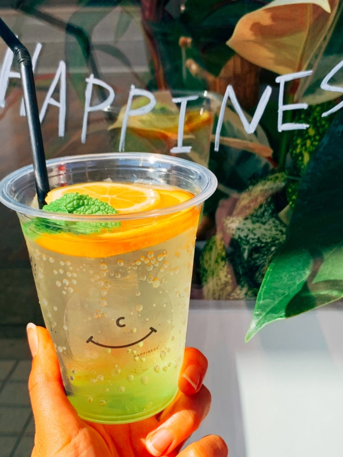 happiness coffee ドリンク