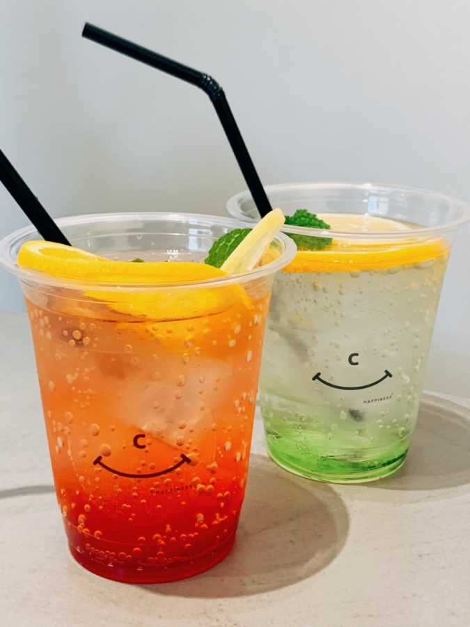happiness coffee FRUITS×SODA(450円)
