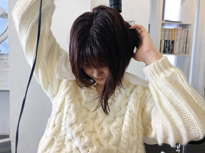 髪の毛がまとまるドライヤーの仕方