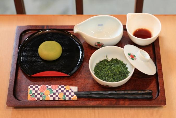 八女福島 寄り道すたんぷらりぃ すすり茶体験
