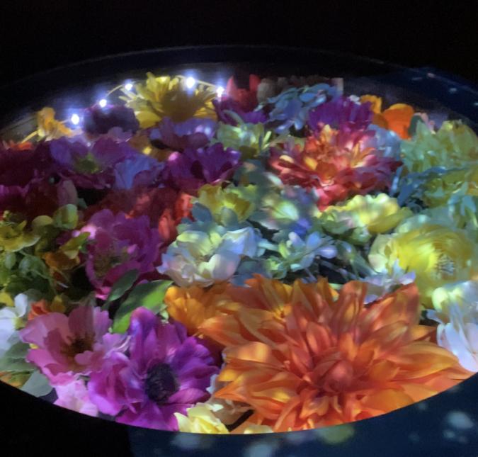 佐賀県庁 佐賀県×ネイキッド 星空の庭園 レストラン テーブル
