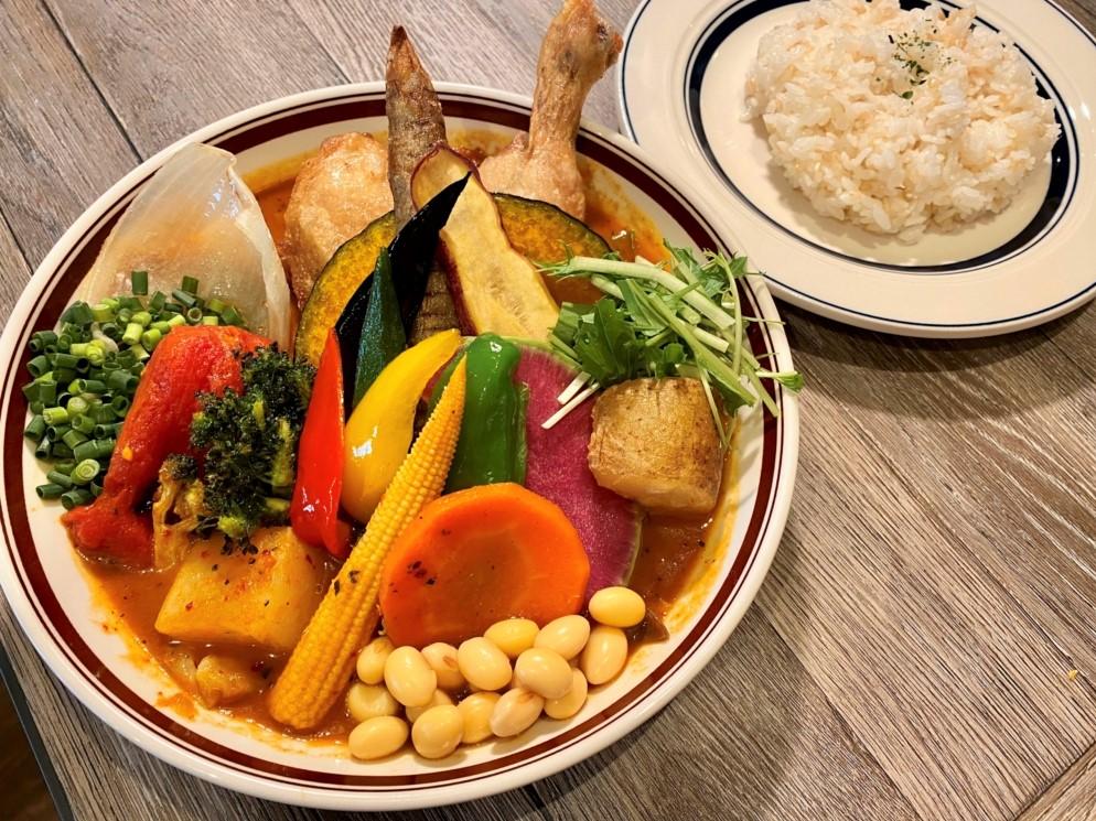 『Rojiura Curry SAMURAI.(ロジウラカレーサムライ)』 カレー