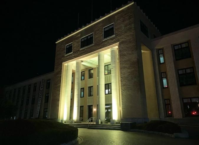 佐賀県庁 ライトアップ