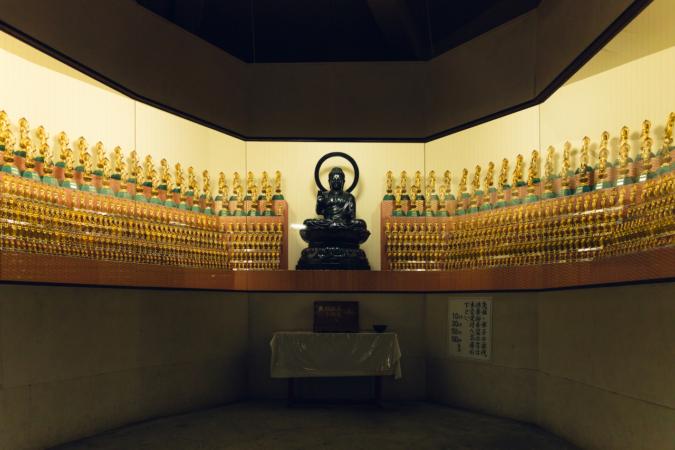 「大本山成田山 久留米分院」 仏像