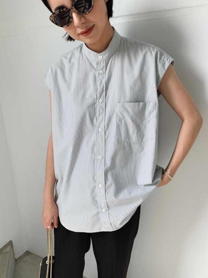 「AURALEE(オーラリー)」のノースリーブシャツ