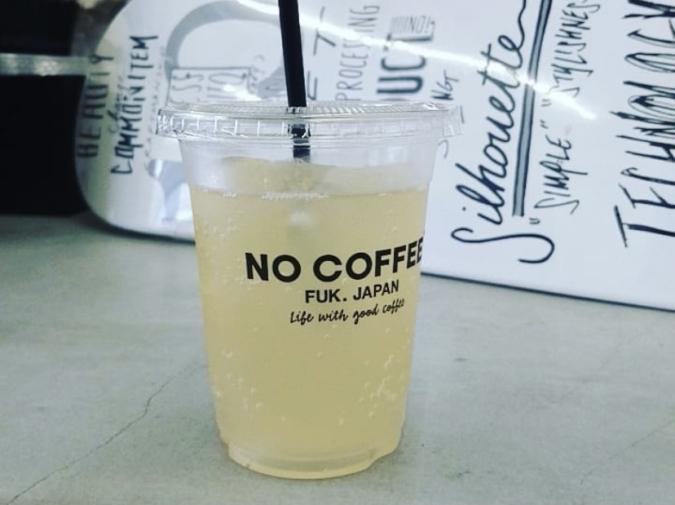 NO COFFEE(ノーコーヒー) ソーダハニーレモンジンジャー