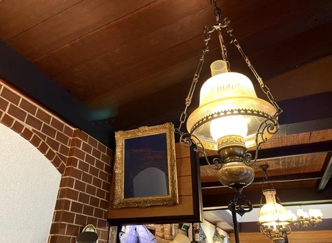 蘭和(らんか) レトロな照明