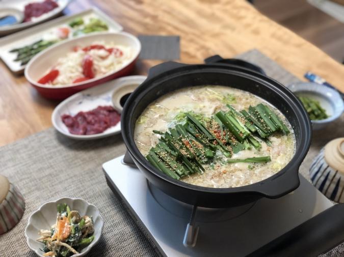 「博多もつ鍋 田しゅう」のもつ鍋