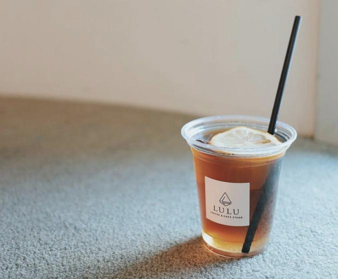 COFFEE&CAKE STAND LULU レモンソーダコーヒー