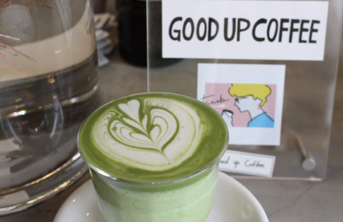 Good up Coffee(グッドアップコーヒー) 抹茶ラテ
