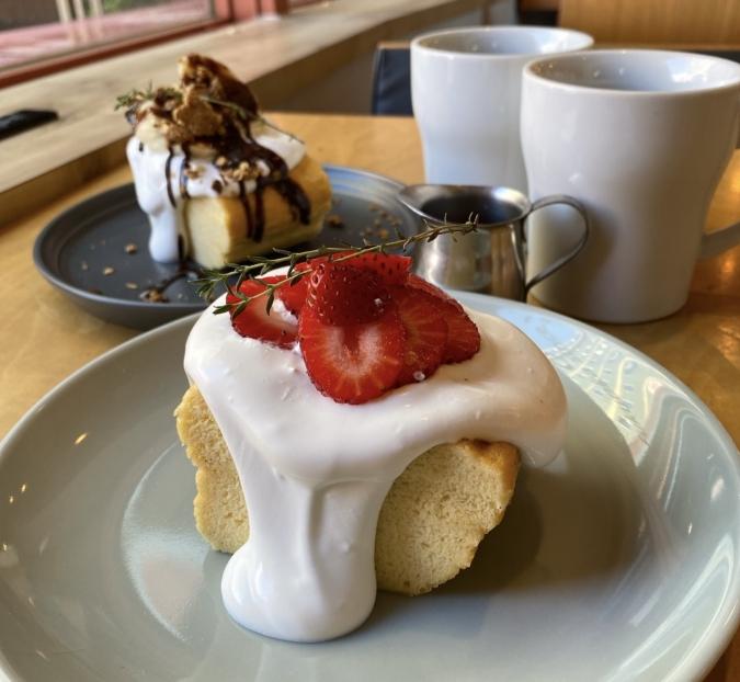 CAFE OTTO MOMOCHI-hama 台湾カステラ