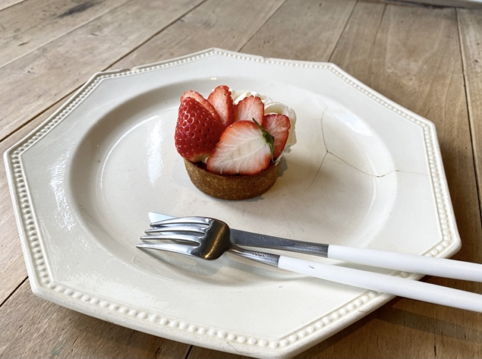 conze blanc(コンゼブラン) 苺のタルト