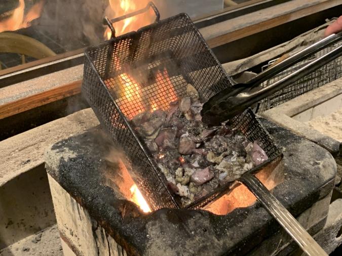 地鶏の炭火焼 あぶりや長介