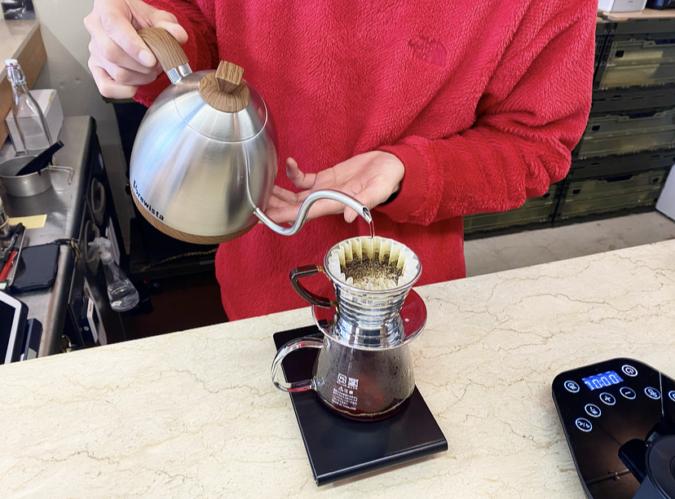 COFFEE&CAKE STAND LULU コーヒー