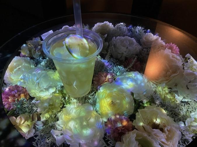 佐賀県庁 佐賀県×ネイキッド 星空の庭園 レストラン 限定ドリンク