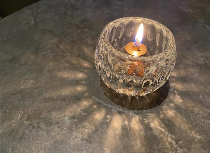 夜パフェ∞EIGHT テーブル照明