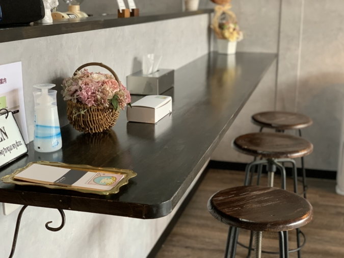 cafe&sweets Sweet Lulu カウンター